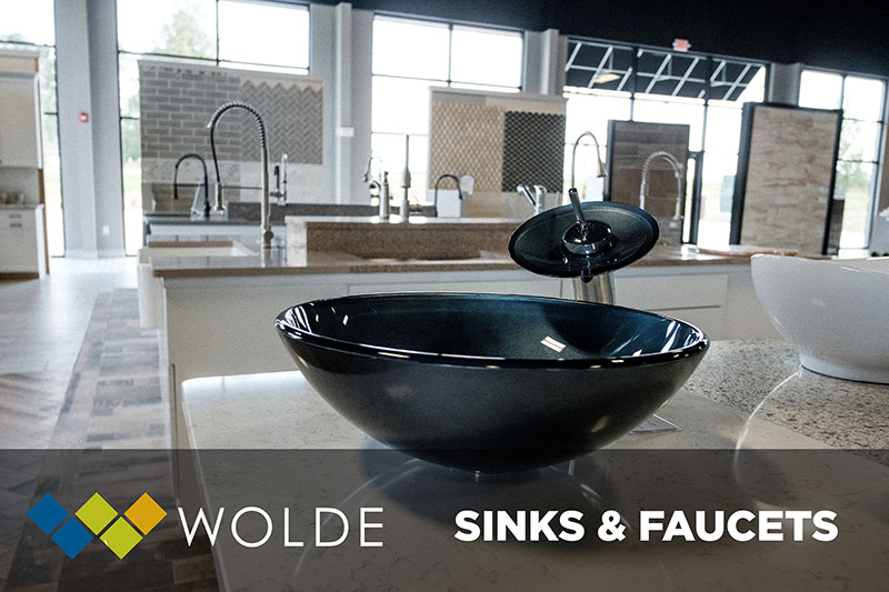 Wolde Flooring is the only sink & faucet resource you will need for your next project!  Come by today!